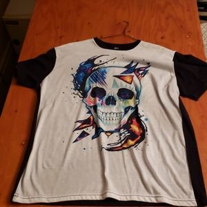 American Apparel Sublimation Contrast Large Shirt